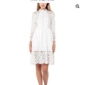Sandro new dress with tag. Size 38. 100% cotton